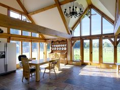 Oakwrights blog with news about our latest oak frame home projects