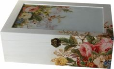 caja  blanca doble bandeja ❥Teresa Restegui http://www.pinterest.com/teretegui/ ❥