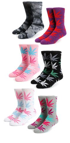 HUF socks // New spring colors are here!