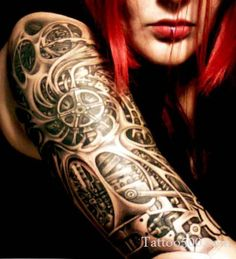 girl tattoo sleeves - Google Search