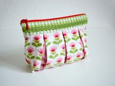 sewing pattern cosmetic case