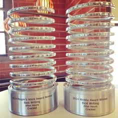 Got our #Webbys in the mail today! #AfterHours