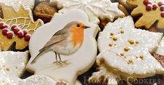 Design, tutorials, videos and photographs of royal icing cookie art.