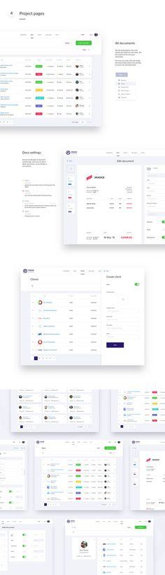 FinDox — Accounting Dashboard on Behance