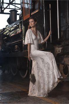 Kieran Gown Ivory in Bride | BHLDN