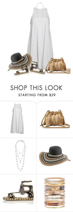 """""""OOTD"""" by sherry7411 ❤ liked on Polyvore featuring Babakul, Diane Von Furstenberg, Lucky Brand, Rip Curl, River Island and Ashley Pittman"""