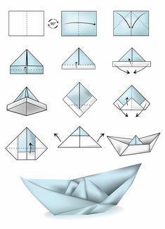 How To Make An Origami Boat Step By Step Origami Little Boat Instructions Free Printable Papercraft Templates. How To Make An Origami Boat Step By Step 3 Ways To Make A Paper Battleship Wikihow. How To Make An Origami Boat… Continue Reading → Diy Origami, Origami Ship, Origami Boot, Design Origami, Origami Simple, How To Make Origami, Paper Crafts Origami, Origami Tutorial, Illustration Tutorial
