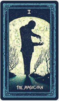 Hiểu Lá The Magician - Prisma Visions Tarot bài tarot