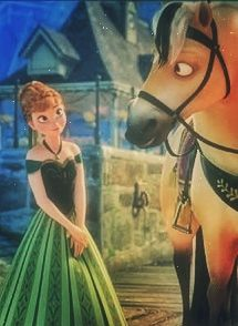 Anna and Sitron. I didn't know this horse had a name. Cool!
