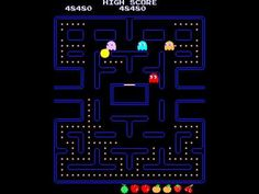 Arcade Game: Pac-Man (1980 Namco (Midway License for US release)) - YouTube