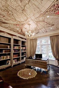Residential Office Library