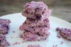 Blueberry Coconut Cream Bars