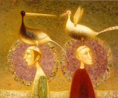 Arunas Zilys 1953   Lithuanian Mythic Surrealist painter