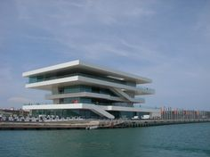 David Chipperfield, America's Cup building, Valencia.