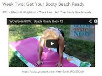 Army Wives Club: Week Two: Get Your Booty Beach Ready with #ArmyWife Evin.  #Fitness #WowBodyNow