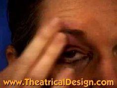 Makeup: Cuts and Bruises: 3 Black Eye