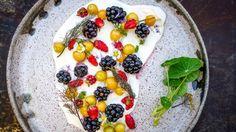Chef John Fraser's Berries and Cream