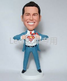 Superman bobble head doll