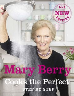 Buy Mary Berry Cooks the Perfect. Recipe Book at Argos. Thousands of products for same day delivery or fast store collection. Tray Bake Recipes, New Recipes, Recipies, Marry Berry Recipes, Mary Berry Complete Cookbook, Mary Berry Cooks, Ideal Home Magazine, Tagine Recipes, Fish Pie