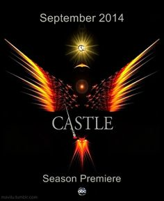 A phoenix rising from the ashes.   A clue to season 7.  The castle fandom will wait patiently for the story to unravel.