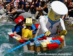 Amazing The Carton Rapid Race: Built Your Boat With Recycled Cardboard & Race  #boat #cardboard #event #race #recycled #river #water The Carton Rapid Race is a derivation canonistic race, where the participants have to build their boats using corrugated cardboard and tape. The Cart...