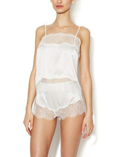 Coquette Silk Camisole by Mimi Holliday at Gilt