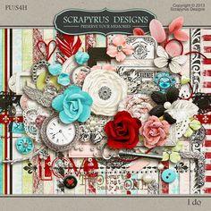 Digital Scrapbook Kit, I do by Scrapyrus Designs :: Memory Scraps