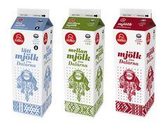 Milk package design | by Joakim Sundström