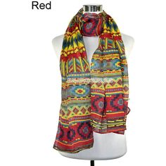 Women Long Large Soft Floral Colorful Scarf Beach Wrap Shawl Fashion... ❤ liked on Polyvore