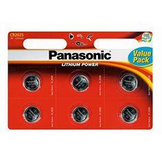 Panasonic Lot de 6 piles CR2016 PILES BOUTON Lithium 3V cellules Multi-usage-…: Price:6.49Panasonic Lot de 6cellules Lithium CR20163V…