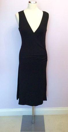 Size 8 black dress diy