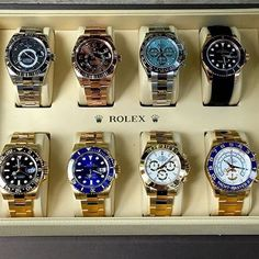Rolex decisions ⌚️ Which would you pick? Tag someone you'd give one too! Rolex is one of the most iconic watch brands. I can't wait to get mine!Doesn't matter what country you're in, these beautiful watches always make a statement. Tag a watch lover. Photo by @rolexshow_israel snapchat: Classyeduardo