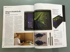 WACOM MobileStudio Pro 16 Review for 3D Artist Magazine Issue 107