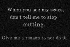 I have no reason to stop