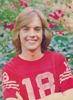 Can't believe I was soooooo in love with Shaun Cassidy. But I was. My room was covered with his posters.