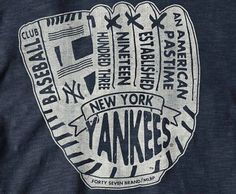 Cool NY Yankees logo -- would love this on a t-shirt