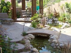 Get inspiration for backyard ponds! View pond pictures, pond images and photos of Aquascape backyard ponds and water gardens. Pond Design, Patio Design, Landscape Design, Garden Design, Backyard Designs, Backyard Ideas, Landscaping Ideas, Patio Ideas, Backyard Retreat