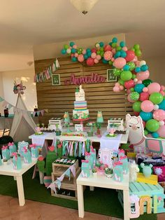 Pin by nilevents on Organization in 2019 13th Birthday Parties, Girl Birthday Themes, 10th Birthday, Birthday Party Decorations, Birthday Ideas, Birthday Cake, Llama Birthday, Decoration Table, First Birthdays