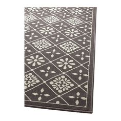 SNEKKERSTEN Rug, low pile IKEA Durable, stain resistant and easy to care for since the rug is made of synthetic fibers.
