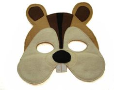 Hedgehog Mask by littlegiantleap on Etsy