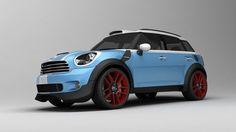 Awesome Mini cooper  2017: 3d materials car - Mini Cooper Countryman custom concept... by VisuArt3D... Check more at http://24cars.top/2017/mini-cooper-2017-3d-materials-car-mini-cooper-countryman-custom-concept-by-visuart3d/