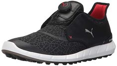 These great looking mens ignite disc extreme golf shoes by Puma come with  performance mesh and premium leather uppers! 5fbc62e59