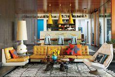 Jonathan Adler & Simon Doonan's summer house. Can I live here forever?