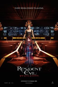 Resident Evil: The Final Chapter Movie Poster 10