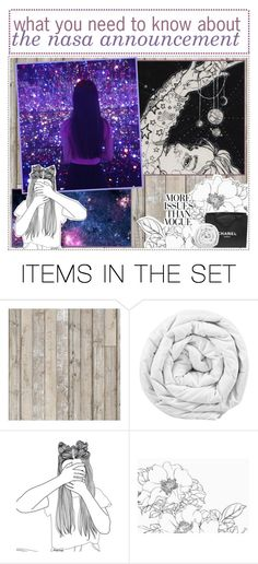 """What you need to know about the big NASA announcement"" by never-say-never1d ❤ liked on Polyvore featuring art and Cintiastips"