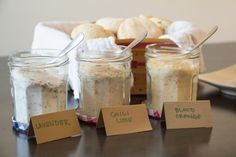 Flavored Sugars for a Biscuit Bar for #BrunchWeek from Sew You Think You Can Cook
