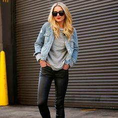 8 dicas para usar a jaqueta mais clássica ever