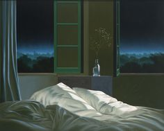 Bruce Cohen Untitled (Unmade Bed), 2011 oil on canvas 48 x 72 inches; 122 x 183 centimeters © Bruce Cohen, Courtesy of Louis Stern Fine Arts