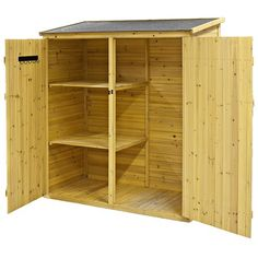 Not waste time and cash and prevent locating the gardening tools you misplace if you attempt one of these simple clever DIY Garden Tool Storage Ideas! Garden Storage Shed, Outdoor Storage Sheds, Storage Shed Plans, Diy Shed, Outdoor Sheds, Small Garden Tool Shed, Small Shed Plans, Lean To Shed Plans, Vertical Pallet Garden