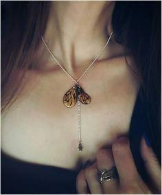 parure Papillon Or nature magic . bijoux .